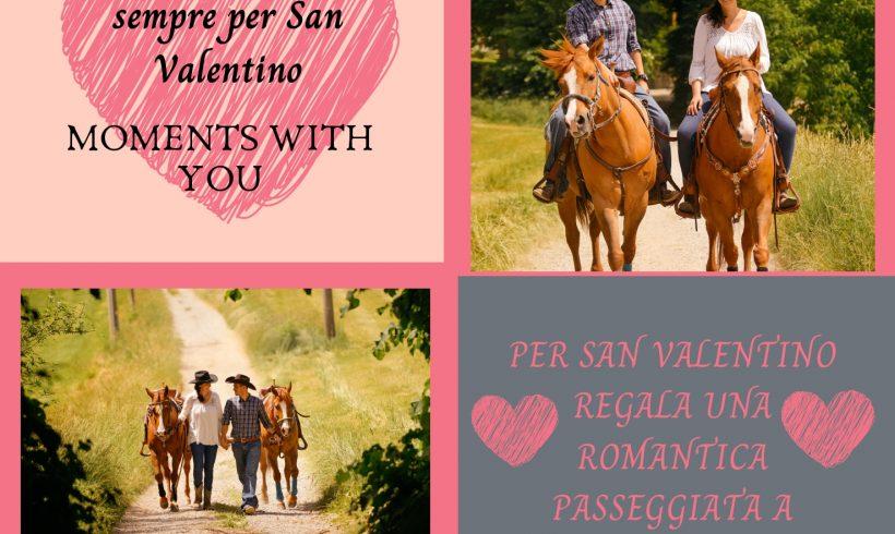 Passeggiata romantica per San Valentino